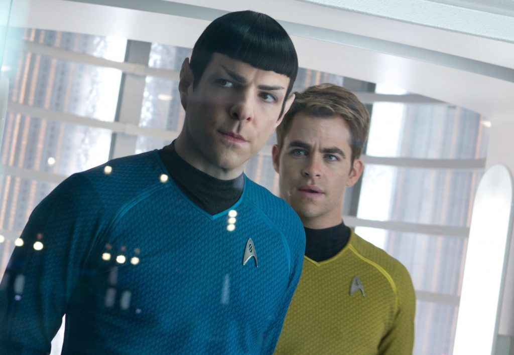 Spock (Zachary Quinto) ve Kaptan Kirk (Chris Pine)