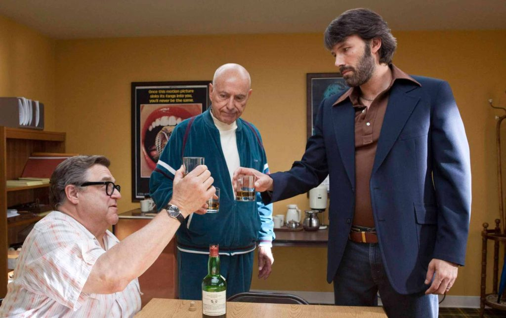 John Goodman, Alan Arkin ve Ben Affleck