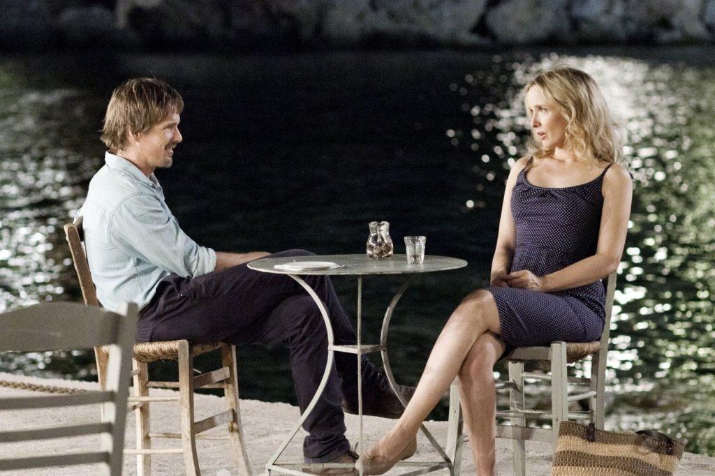 Jesse (Ethan Hawke) ve Celine (Julie Delpy)