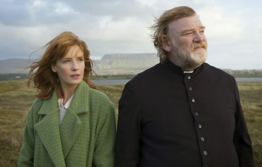 Peder James (Brendan Gleeson) ve Kızı (Kelly Reilly)