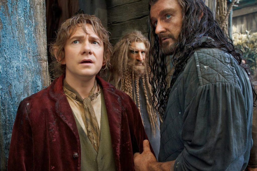 Bilbo (Martin Freeman) ve Thorin (Richard Armitage)