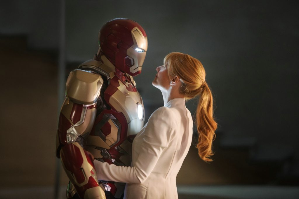 Iron Man ve Pepper Potts (Gwyneth Paltrow)