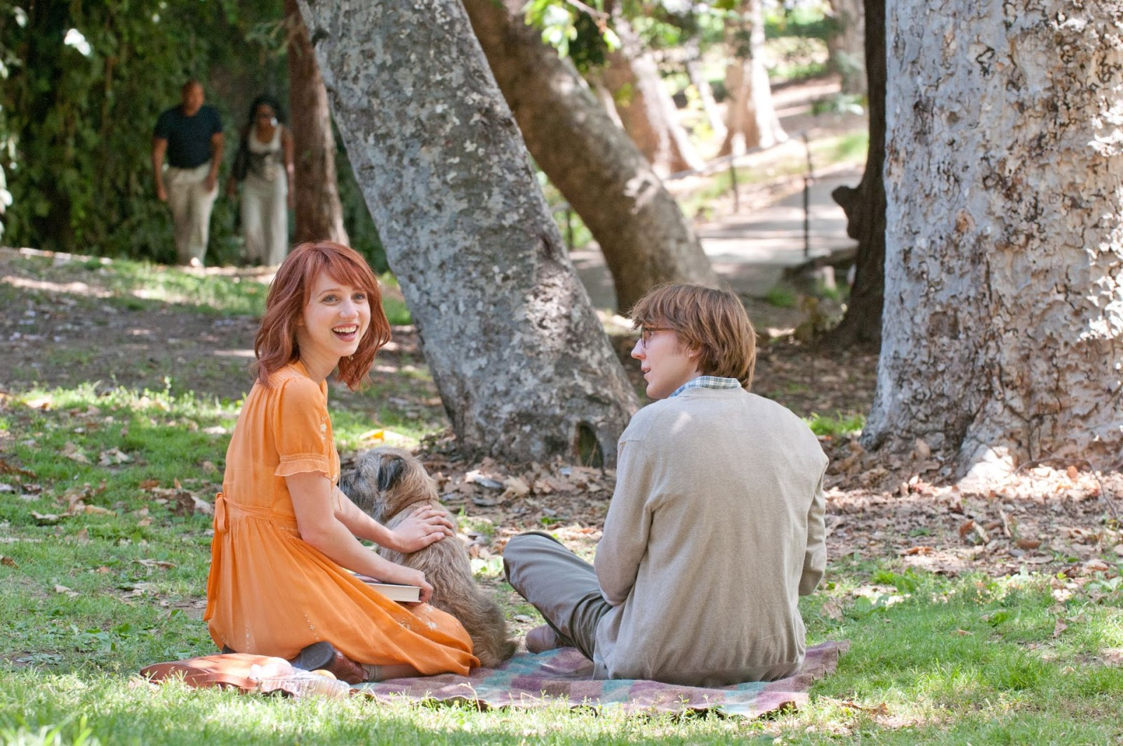 Ruby Sparks (Zoe Kazan) ve Calvin Weir-Fields (Paul Dano)