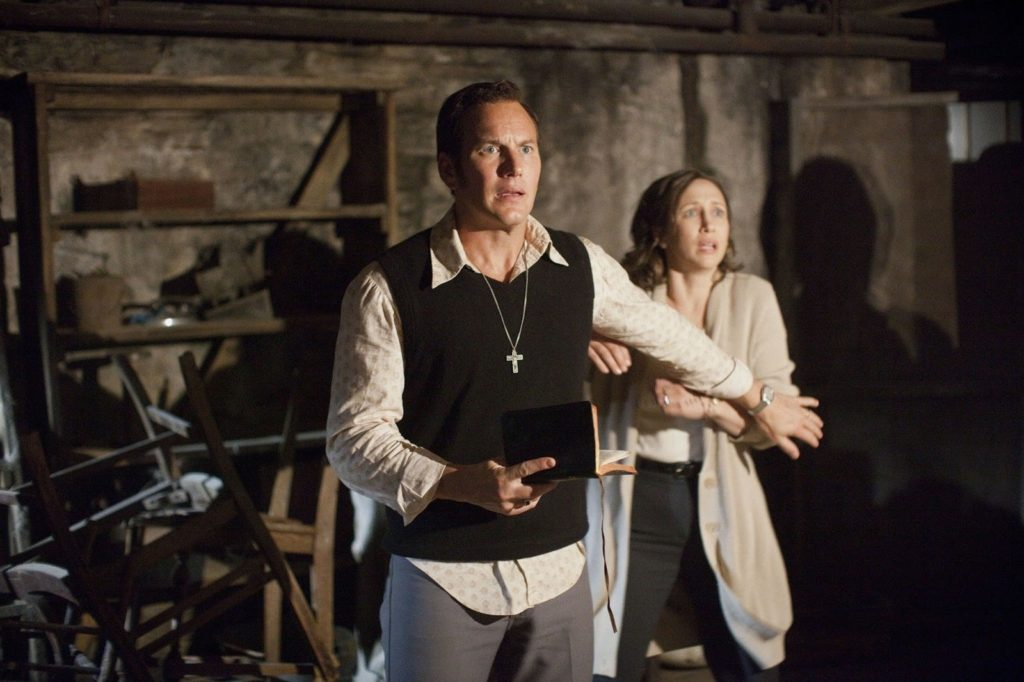 Ed Warren (Patrick Wilson) ve Lorraine Warren (Vera Farmiga)