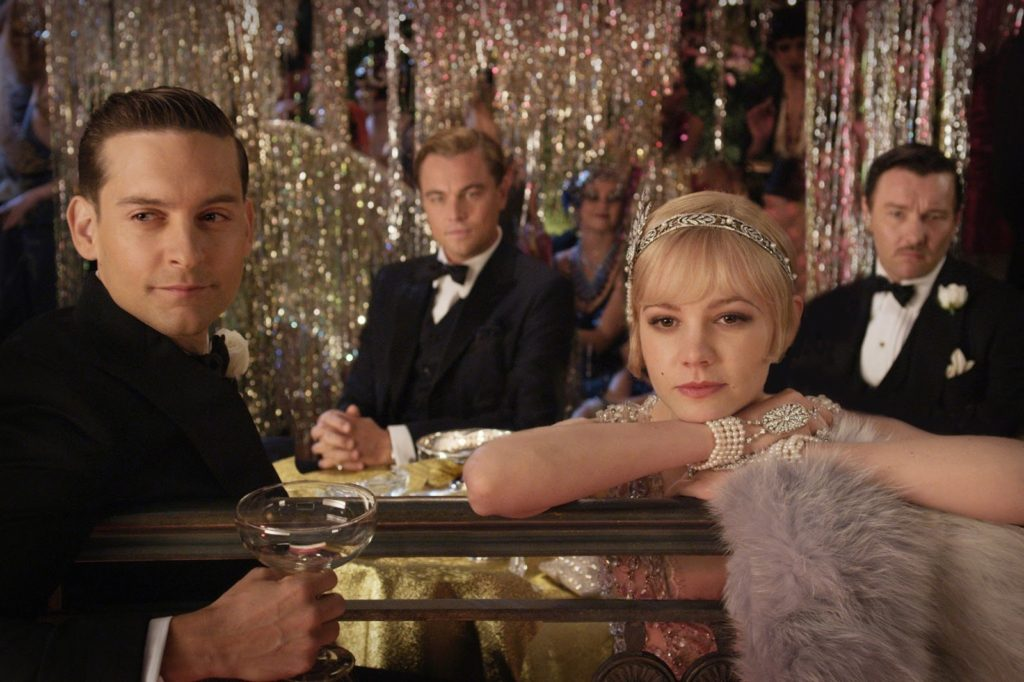 Nick Carraway, Jay Gatsby, Daisy ve Tom Buchanan (Joel Edgerton)