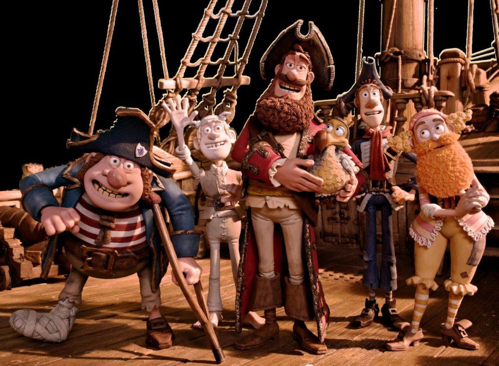 Gutlu Korsan, Albino Korsan, Kaptan Korsan, Dodo, Kırmızı Atkılı Korsan ve Şaşırtıcı Kıvrımları olan Korsan