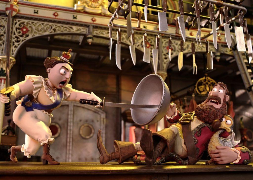 Kraliçe Victoria, Kaptan Korsan ve Dodo