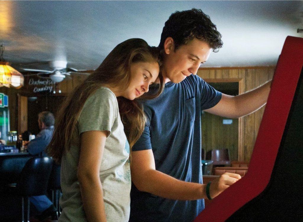 Sutter (Miles Teller) ve Aimee (Shailene Woodley)