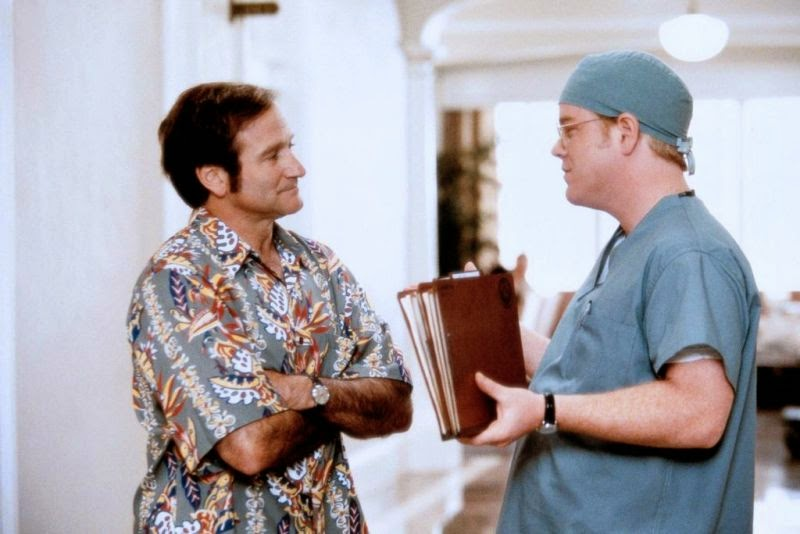 Robin Williams ve Philip Seymour Hoffman (Patch Adams)