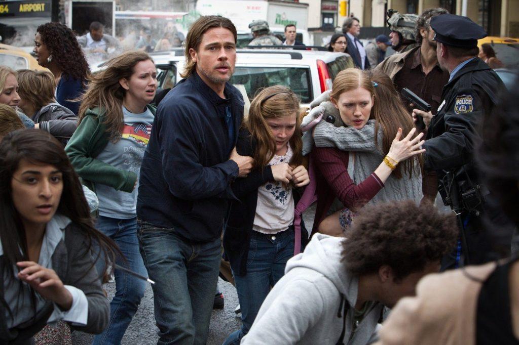 Gerry Lane (Brad Pitt) ve Ailesi